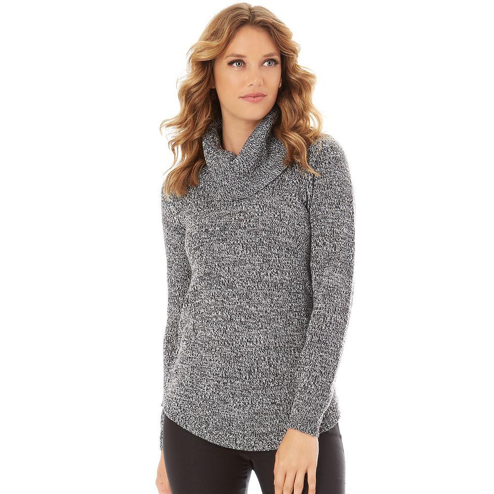 Apt. 9® Marled Cowlneck Tunic Sweater