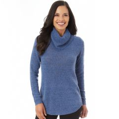 Womens Blue Cowlneck Sweaters - Tops, Clothing | Kohl's