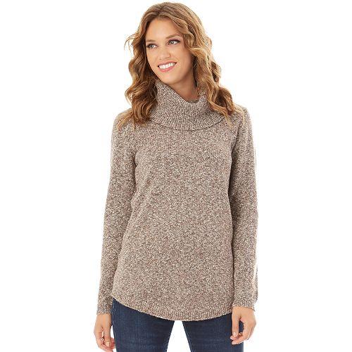 Women's Apt. 9® Marled Cowlneck Tunic Sweater