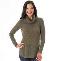 Women's Apt. 9® Marled Cowlneck Tunic Sweater
