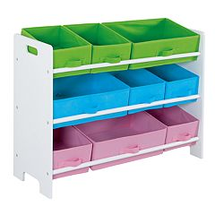 Home Basics Kids 9-Bin Storage Shelf