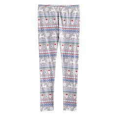 Girls 7-16 & Plus Size SO® Fairisle Pattern Leggings