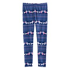 Girls 7-16 & Plus Size SO® Fairisle Pattern Leggings