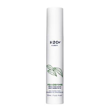 H2O+ Beauty Aquadefense Protective Matcha Moisturizer SPF 40