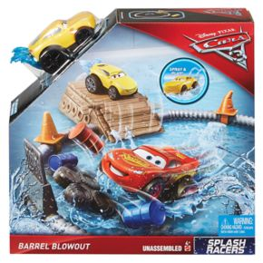 Disney / Pixar Cars 3 Splash Racers Barrel Blowout Playset