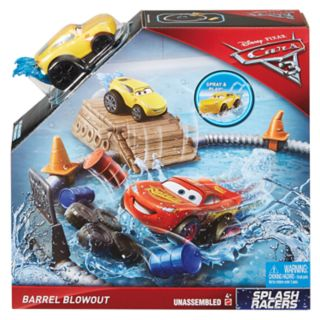 Disney / Pixar Cars 3 Splash Racers Barrel Blowout Playset