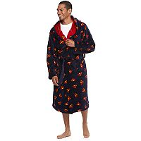 Men's DC Comics Superman Plush Hooded Robe