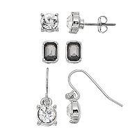 Round & Rectangular Nickel Free Earring Set