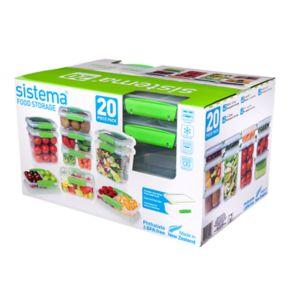 Sistema 20-pc. Storage Set