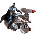 Justice League Batman Figure & Batcycle Vehicle Set