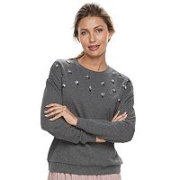 Women's Apt. 9® Embellished Sweatshirt