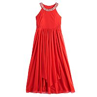 Girls 7-16 My Michelle Halter Maxi Dress