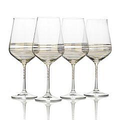 Mikasa Electric Boulevard 4-pc. Wine Goblet Set