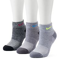 Women's Nike 3 pkCushioned Training Quarter Socks