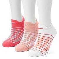 Women's Nike 3 pkBlock Graphic Cushioned No-Show Socks