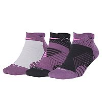 Women's Nike 3 pkDri-Fit Graphic Low-Cut Socks