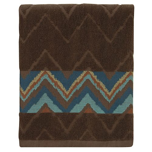 Bacova Sierra Zigzag Bath Towel