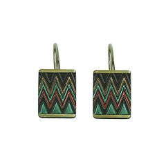 Bacova Sierra Zigzag Shower Curtain Hooks