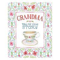Grandma Tell Me Your Story Keepsake Journal Book