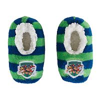 Toddler Boy Paw Patrol Marshall, Rubble & Chase Plush Slipper Socks