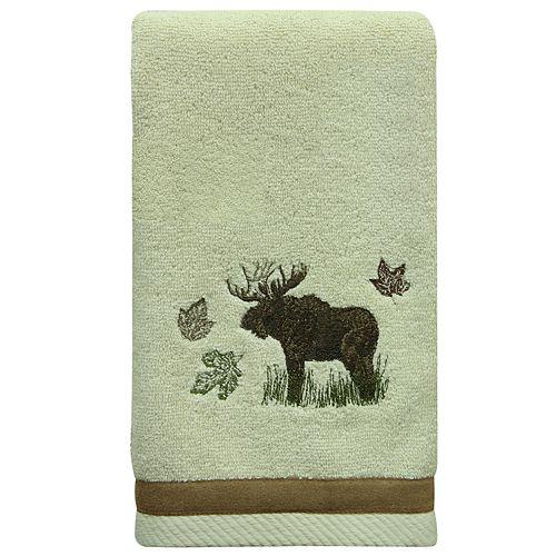 Bacova Tetons Moose Hand Towel