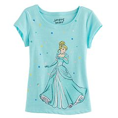 Disney's Cinderella Toddler Girl Glitter Graphic Tee by Jumping Beans®