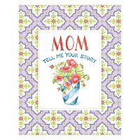 Mom Tell Me Your Story Keepsake Journal Book