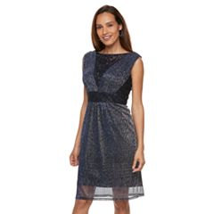 Petite Chaya Lace V-Neck Dress