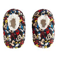 Disney's Mickey Mouse Toddler Boy Plush Slipper Socks