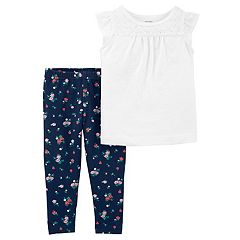 Baby Girl Carter's Lace Tank Top & Legging Set