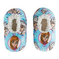 Disney's Frozen Elsa & Anna Toddler Girl Plush Slipper Socks