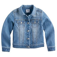 Girls 4-12 SONOMA Goods For Life™ Denim Jacket