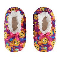 Toddler Girl The Emoji Movie Gene Plush Slipper Socks
