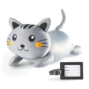 Kikkerland Cat Travel Pillow