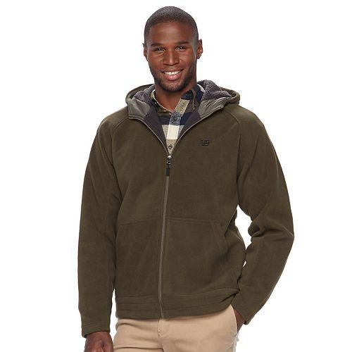 Big & Tall New Balance Sherpa-Lined Polar Fleece Hooded Jacket
