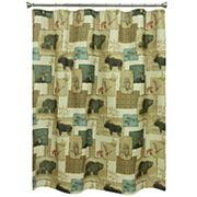 Bacova Tetons Wildlife Shower Curtain