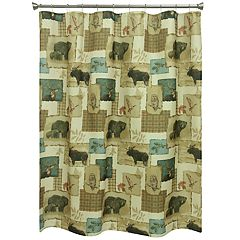 Bacova Tetons Wildlife Shower Curtain