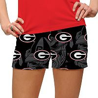 Women's Loudmouth Georgia Bulldogs Golf Shorts