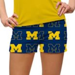 Women's Loudmouth Michigan Wolverines Golf Shorts