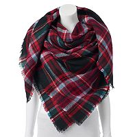 Apt. 9® College Plaid Runway Blanket Square Scarf