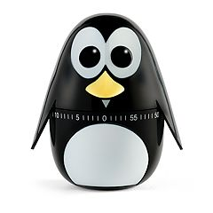 Kikkerland Penguin Kitchen Timer