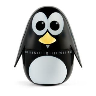 Kikkerland Penguin Kitchen Timer