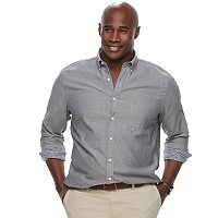 Men's SONOMA Goods for Life™ Regular-Fit Double-Cloth Woven Button-Down Shirt