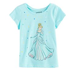 Disney's Cinderella Baby Girl Slubbed Graphic Tee by Jumping Beans®