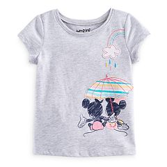Disney's Mickey Mouse Baby Girl Applique Graphic Tee by Jumping Beans®