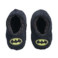 Toddler Boy DC Comics Batman Plush Fleece Slipper Socks
