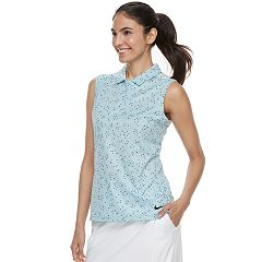 Women's Nike Essential Sleeveless Golf Polo