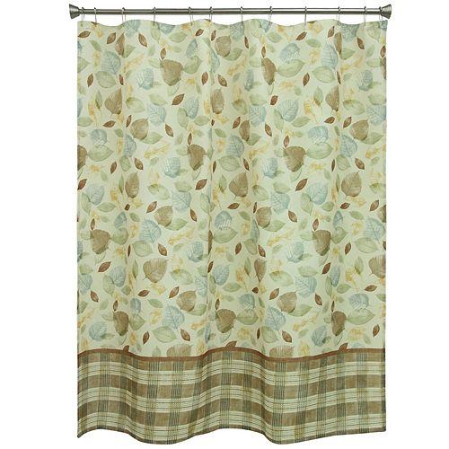 Bacova Tetons Leaf Shower Curtain
