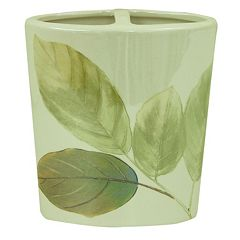 Bacova Waterfall Leaves Toothbrush Holder