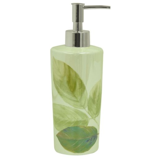 Bacova Waterfall Leaves Soap Pump